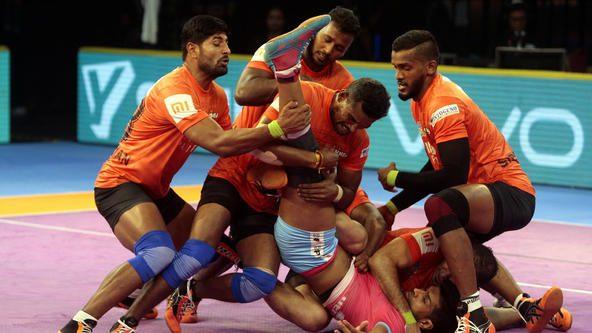 Late heroics propel U Mumba past Jaipur Pink Panthers
