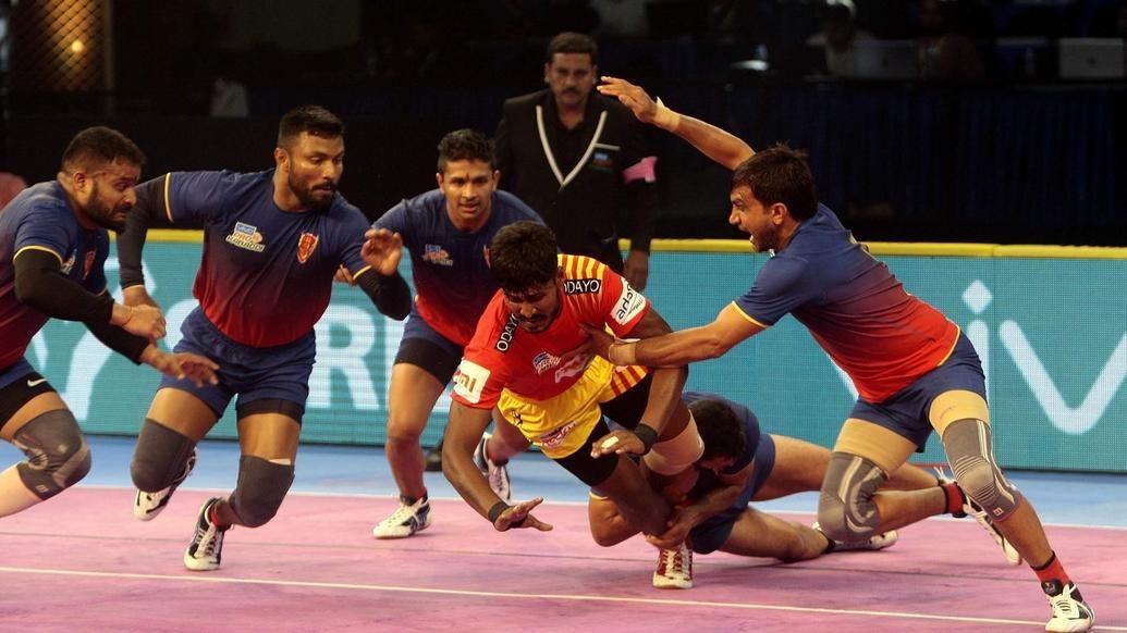 Gujarat F vs Dabang Delhi | Kabaddi Betting India