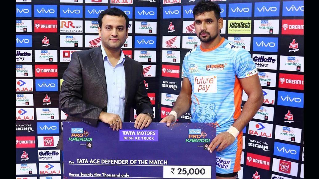 Match 126: Bengal Warriors vs Dabang Delhi K.C