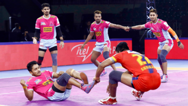 Match 50: U.P.Yoddha vs Jaipur Pink Panthers