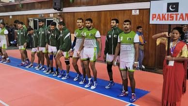 India meet Pakistan in the South Asian Games