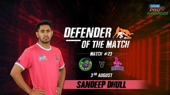 Match 23: Defender of the Match - Sandeep Dhull