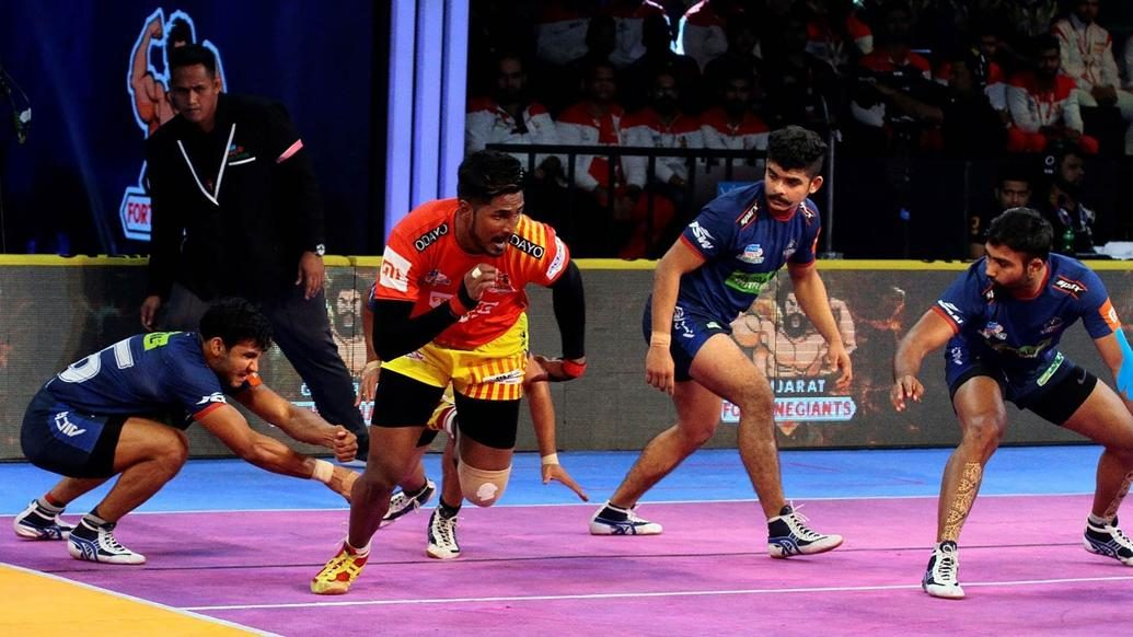 Gujarat Fortunegiants' early strikes reign Haryana Steelers in