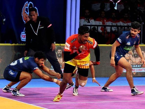 Gujarat Fortunegiants' early strikes reign Haryana Steelers in