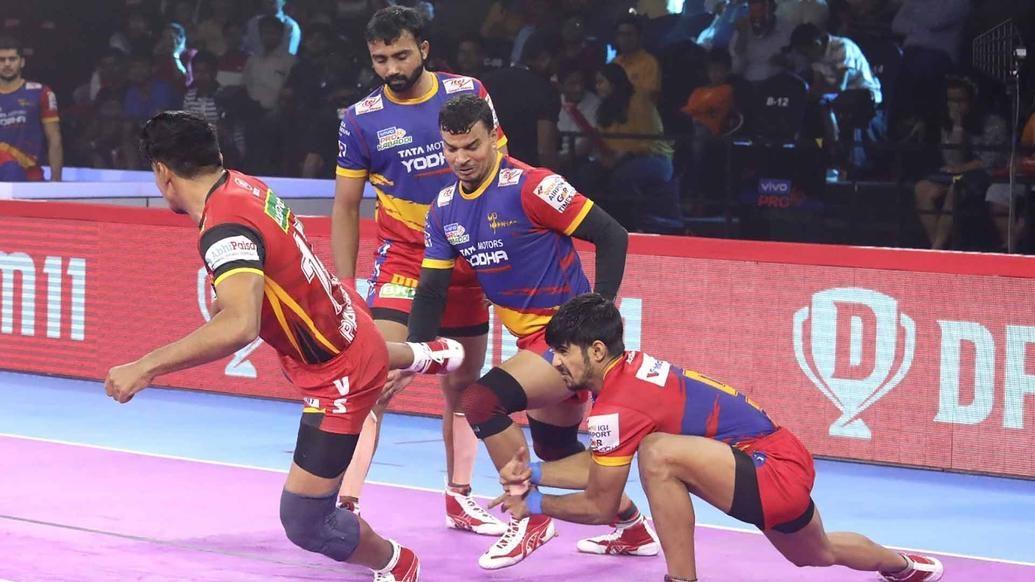 Sehrawat's Super 10 effort undone by disciplined U.P. Yoddha performance