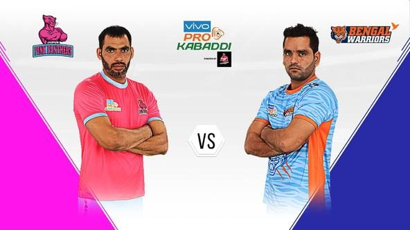 Jaipur Pink Panthers take on Bengal Warriors in a bid to get back on track