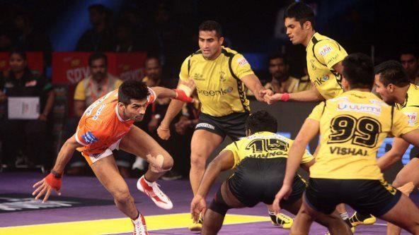 Puneri Paltan beat Telugu Titans 40-35