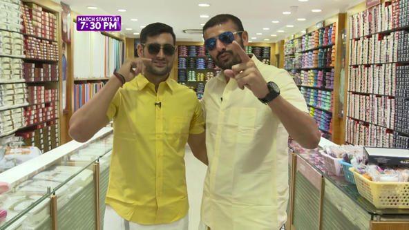 Chaudhari's chaperone around Chennai ft. Ajay Thakur