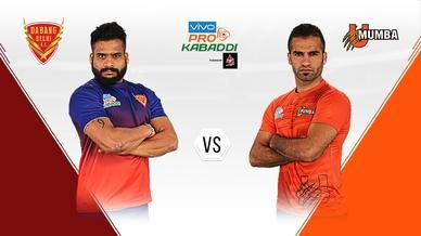Dabang Delhi K.C. search for their first Season 6 win over U Mumba