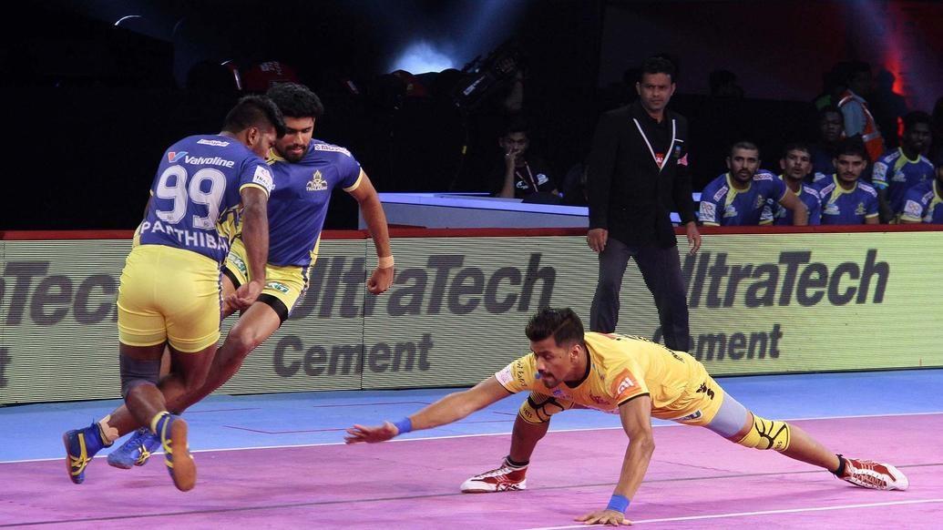 Match 83: Tamil Thalaivas vs Telugu Titans