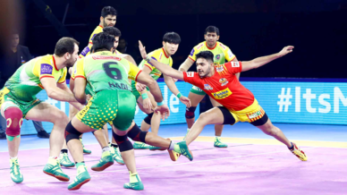 Match 123: Gujarat Fortunegiants vs Patna Pirates