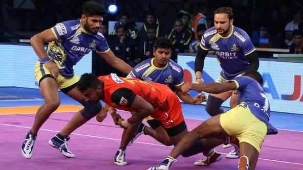 Adake and Sehrawat combine to propel Bengaluru Bulls over Tamil Thalaivas