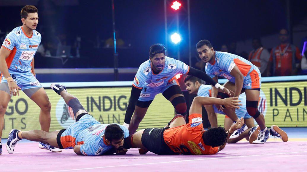 Bengal Warriors edge past U Mumba to qualify for final