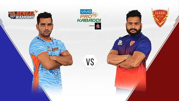 Dabang Delhi K.C. visit Bengal Warriors for their final game before the Playoffs
