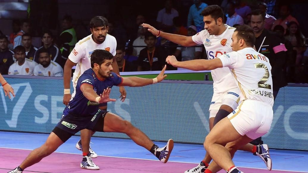 Haryana Steelers overcome Dabang Delhi K.C. defence to clinch thriller
