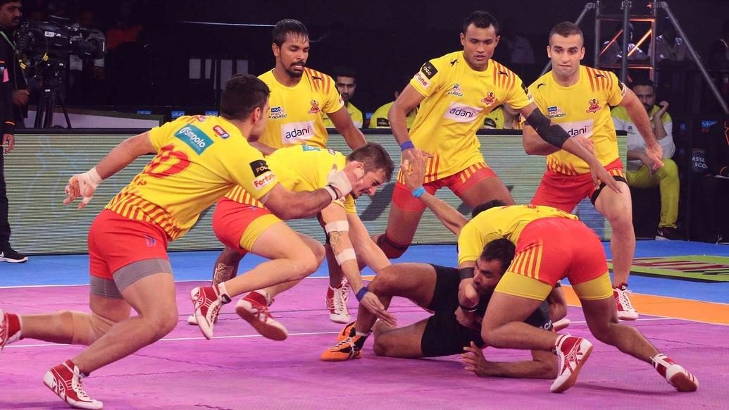 Gujarat maintain their 100 percent win record against Mumbai