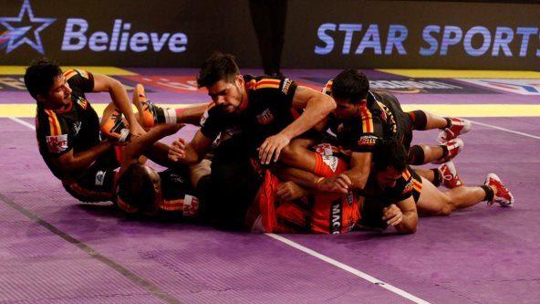 Bengaluru Bulls edge U Mumba 28-27