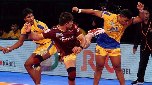 Tomar's Yoddha keep Chennai from first home win