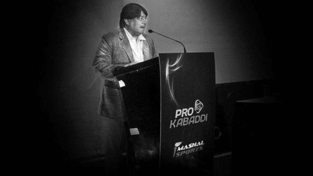 Mashal Sports and PKL teams mourn the demise of Shri Janardhan Singh Gehlot