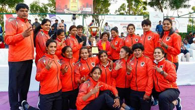 Best of the Women's Final: 67th Senior National Kabaddi Championship