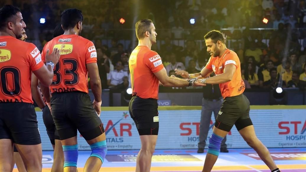 Abhishek Singh and a resilient defence star in U Mumba's victory over Telugu Titans