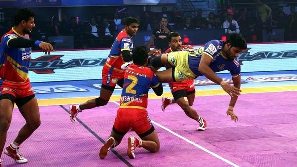 Prashanth Kumar Rai sizzles as U.P. Yoddha and Tamil Thalaivas play out a tie