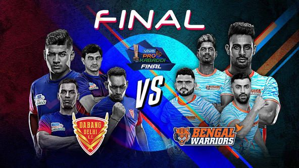 Dabang Delhi K.C. and Bengal Warriors to battle for maiden vivo Pro Kabaddi title